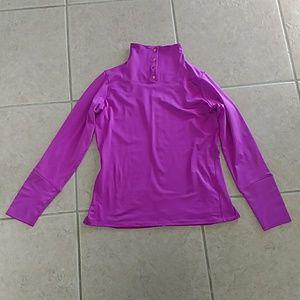 Nike Golf Dri-Fit Pullover Sweater M Purple Pink